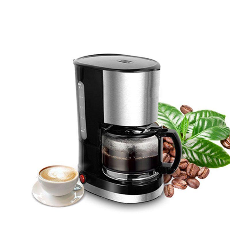 BEIJAMEI Gotejamento tipo café pote de aço inoxidável em casa americano café moinho pequeno café maker que faz a máquina para venda