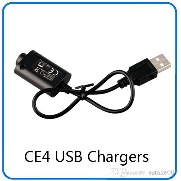 E cigarette CE4 Charger Ego-CE4 Electronic Cigarette USB Chargers for ego/ego-T/Ego-K 510 mods E Cig cheap products 0205012