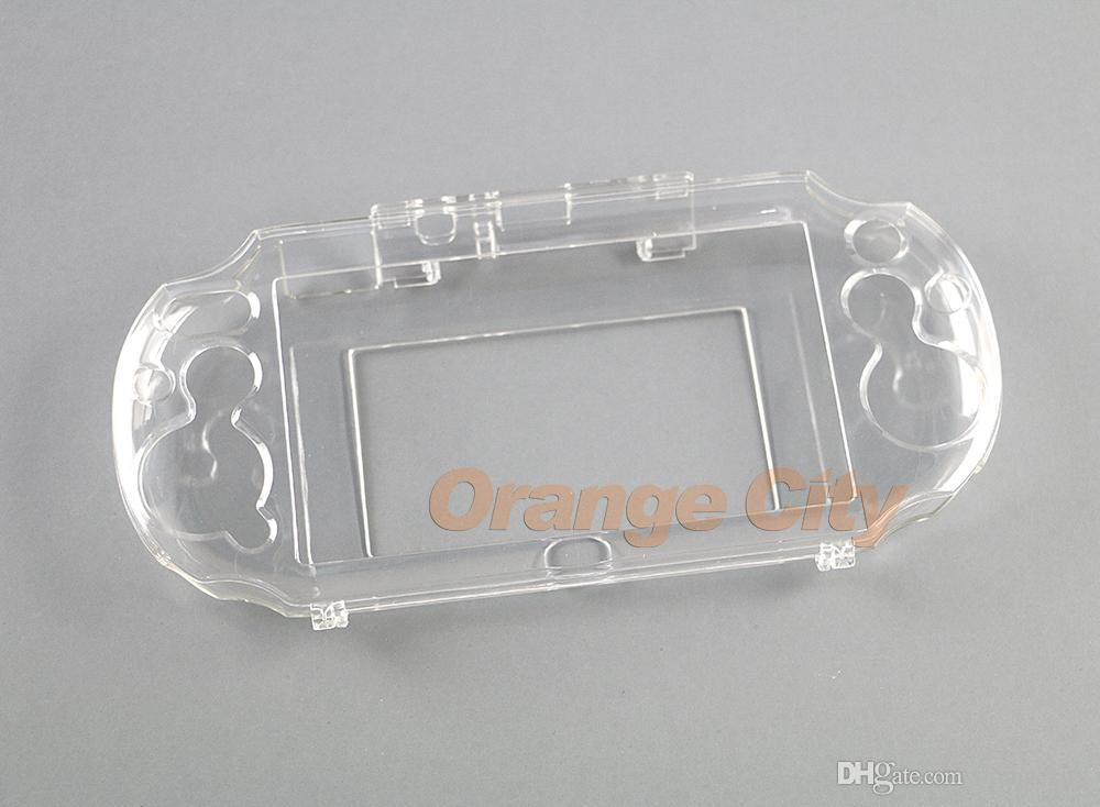 Ясно жесткий чехол прозрачный защитный чехол Shell кожи для Sony psv2000 Psvita PS Vita PSV 2000 Кристалл тела протектор