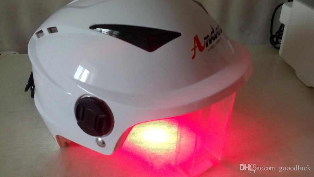[Healthy Life] Hot selling in 2018 Nice Professional hair regrowth helmet with 64 soft lasers I GROW style treatment 20 minutes!!!