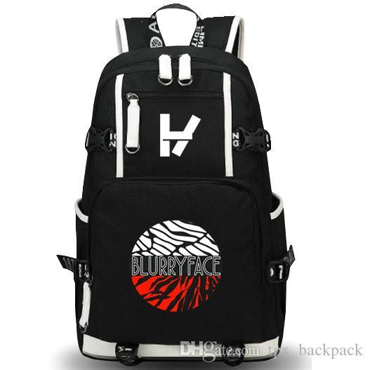 21 twenty one pilots backpack bookbag for kids boys girls school bag Laptop bag