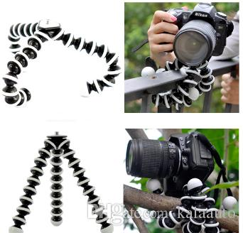 2018 new large octopus flexible tripod bracket Gorillapod for mobile phone phone smart phone digital SLR camera desktop desktop mini tripod