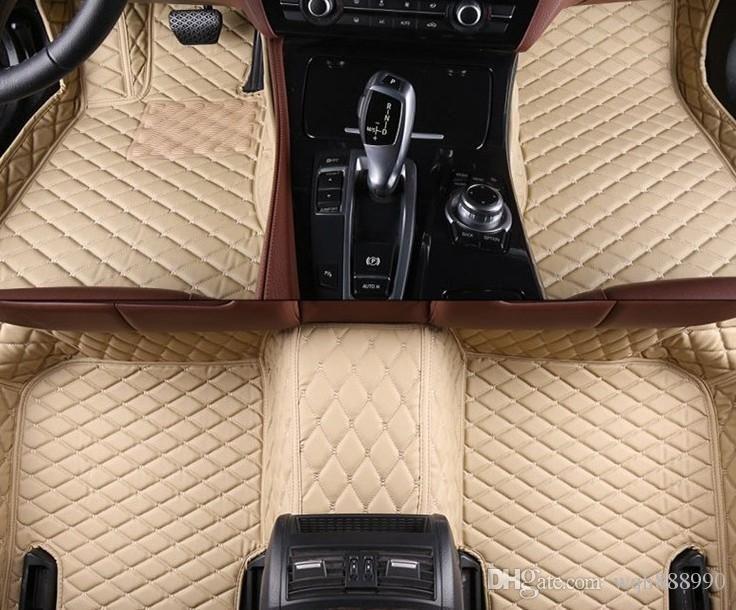 High quality car floor mats for Jaguar F-pace XE XF XJ XJL XJ6L 3D car styling 4 season car decoration all cover rugs carpets