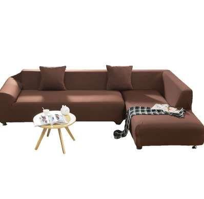TUTUBIRD Sólido Estiramiento Tight Sofa Cover Tejido Tejido Antideslizante Flexible Gran Elasticidad Couch Cover Funda Funda