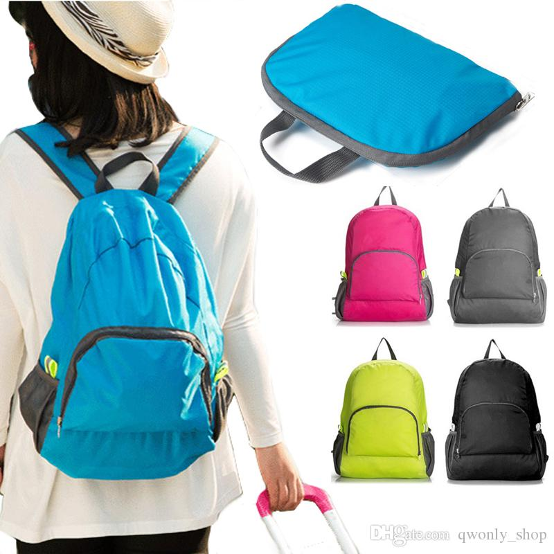 Multi-function Outdoor Bags Portable Waterproof Backpacks Foldable Sport Travel Bags High Quality Cheap Price Wholesale DHL
