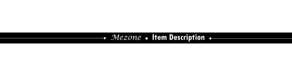 mezone item description