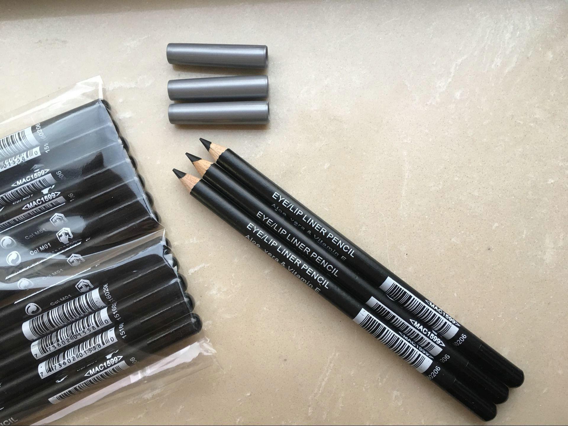 شحن مجاني أحدث كحل قلم رصاص الأسود والبني الألوان 12 قطع