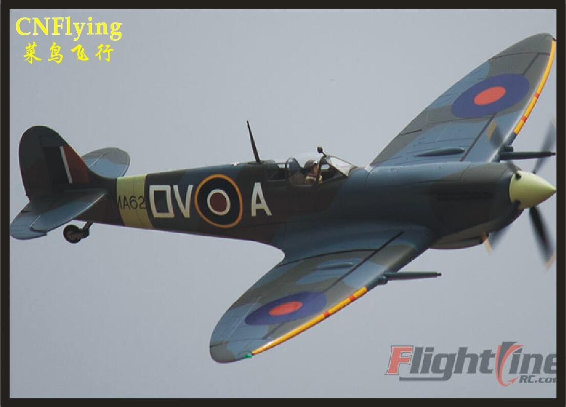 Freewing Flight Line New RC Plane envergadura 1.600 milímetros Spitfire 1.6m RC modelo de avião modelo PNP e PNP sem ESC