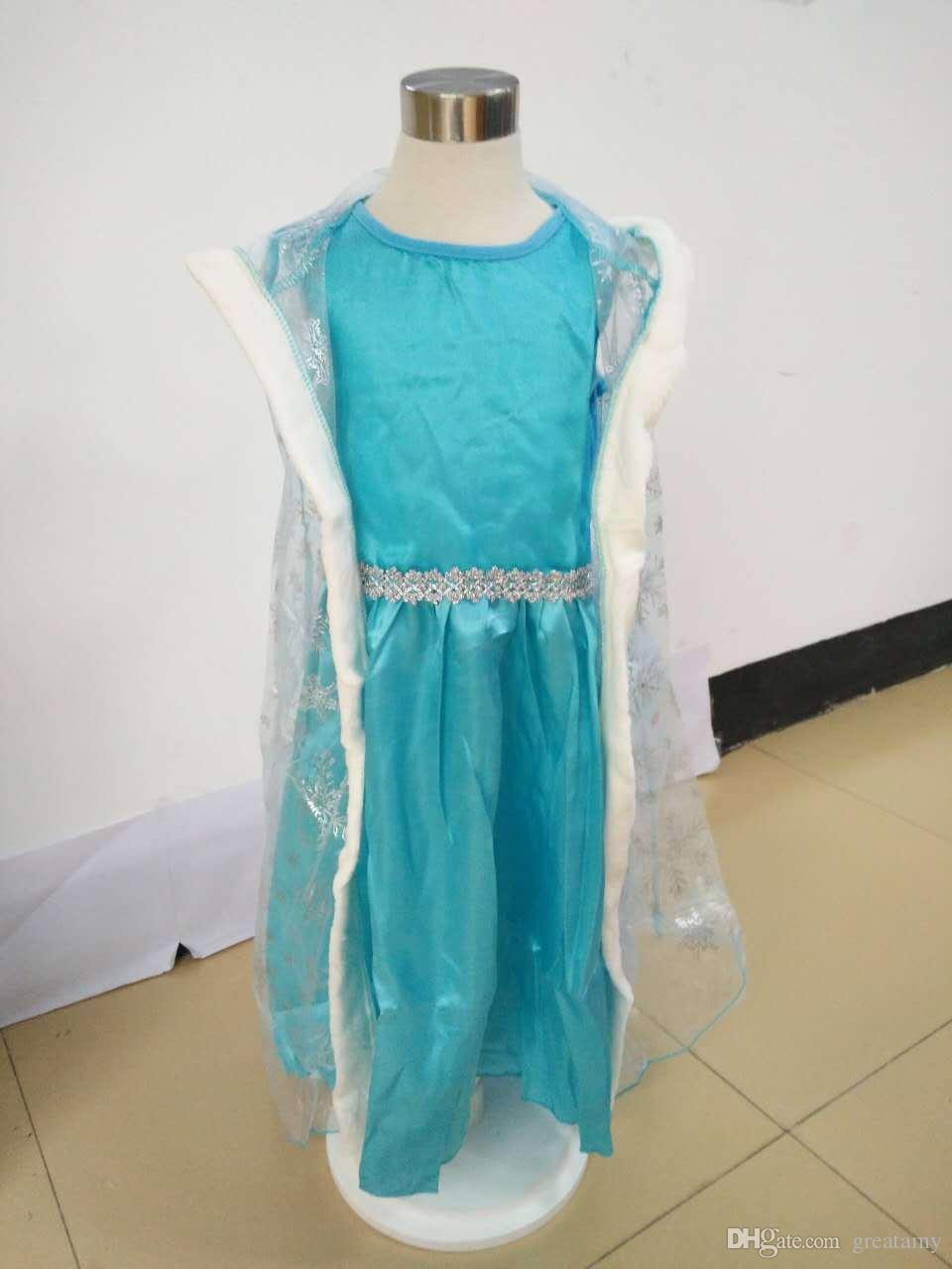 Großhandel Kostümbaby Mädchen Kleiden Kinderschneemädchen Röcke ...