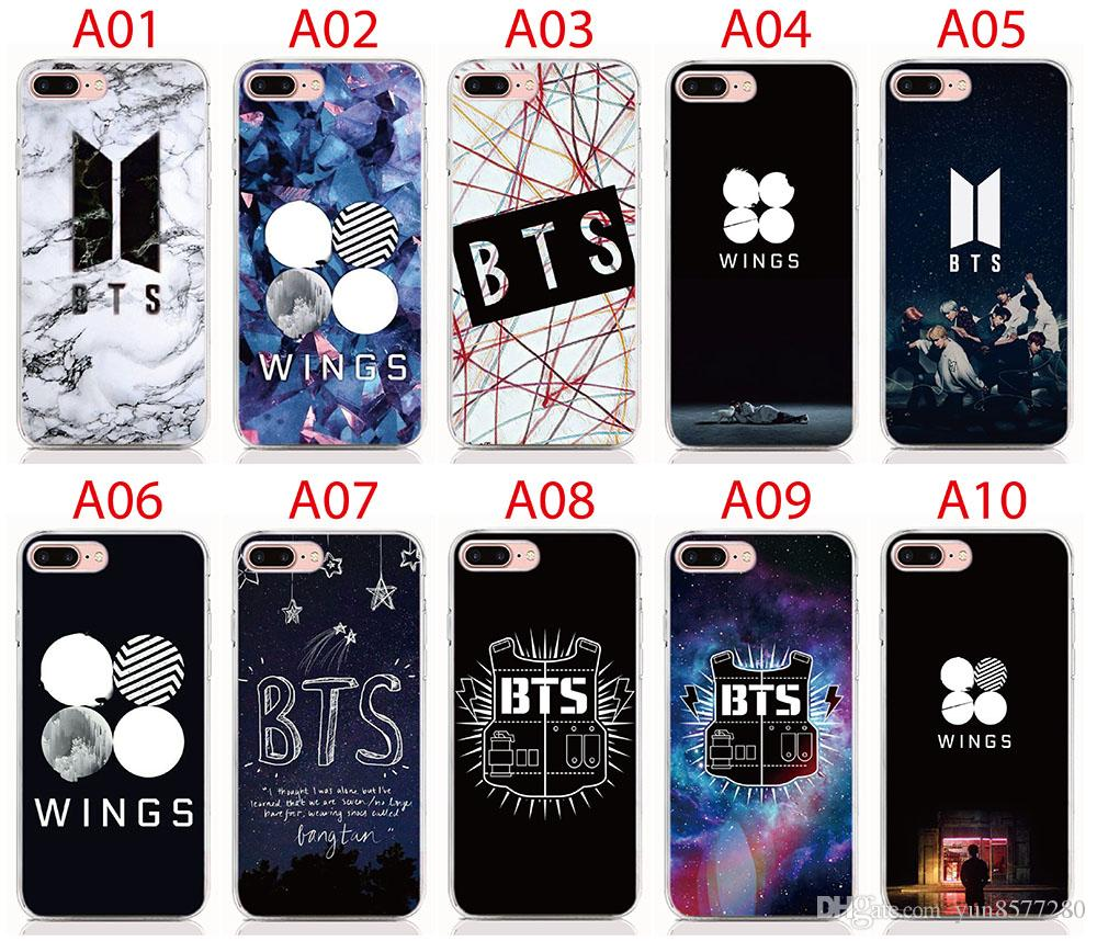 online store 9b007 2245a For Apple IPhone 6 7 8 Plus Bts LOGO 2D Paiting Back Silicon Cover For  IPhone 4 4S 5 5S SE 6 7 8 X Soft TPU Covers Canada 2019 From Yun8577280,  CAD ...