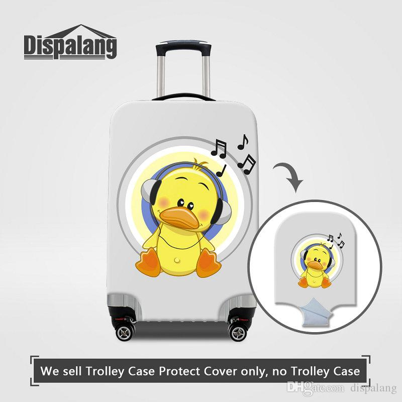 Dispalang Fox Luggage Cover Elastic Suitcase Protector