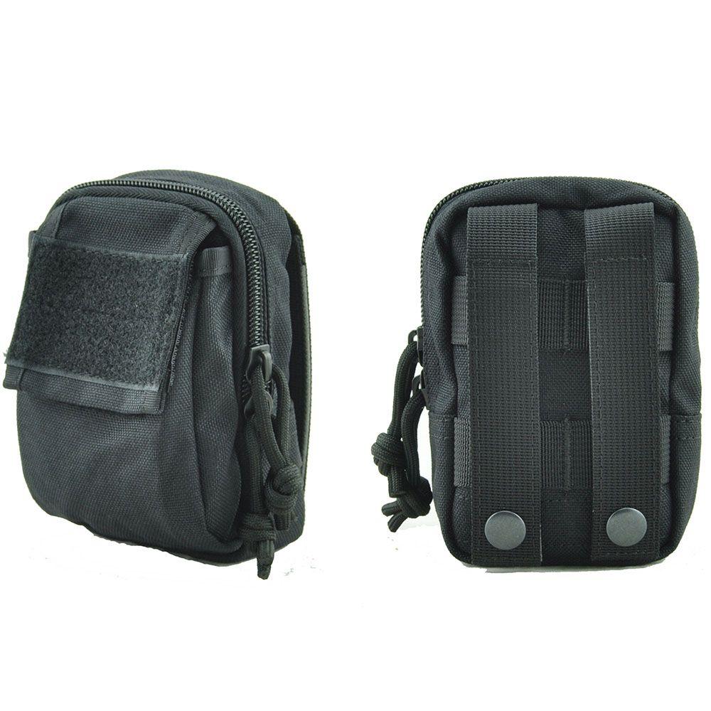 3 Colors Waterproof Tactical Waist Belt Pack Phone Case Pouch Bag Outdoor Sports