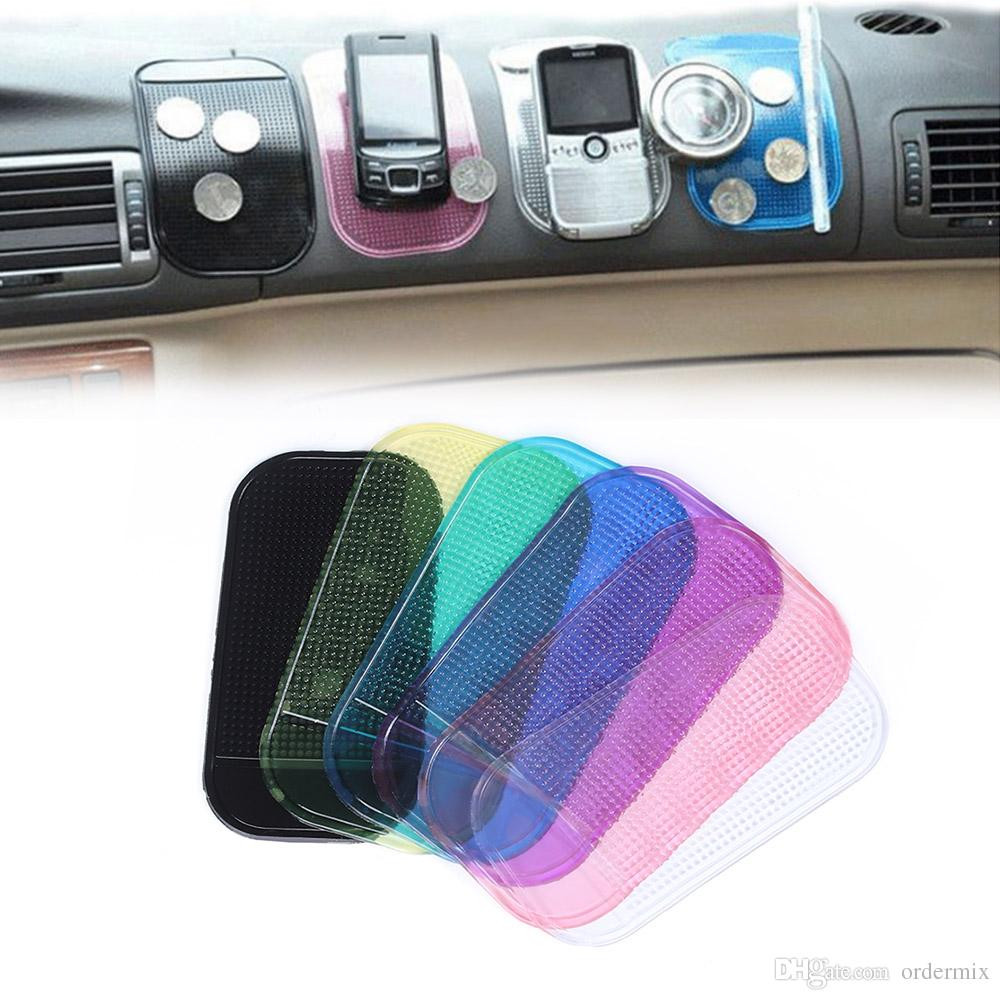 Universal Sticky Pad Anti-Slip Mat Gel Dash Car Mount Holder for Cell Phone High-quality 7 Color Available
