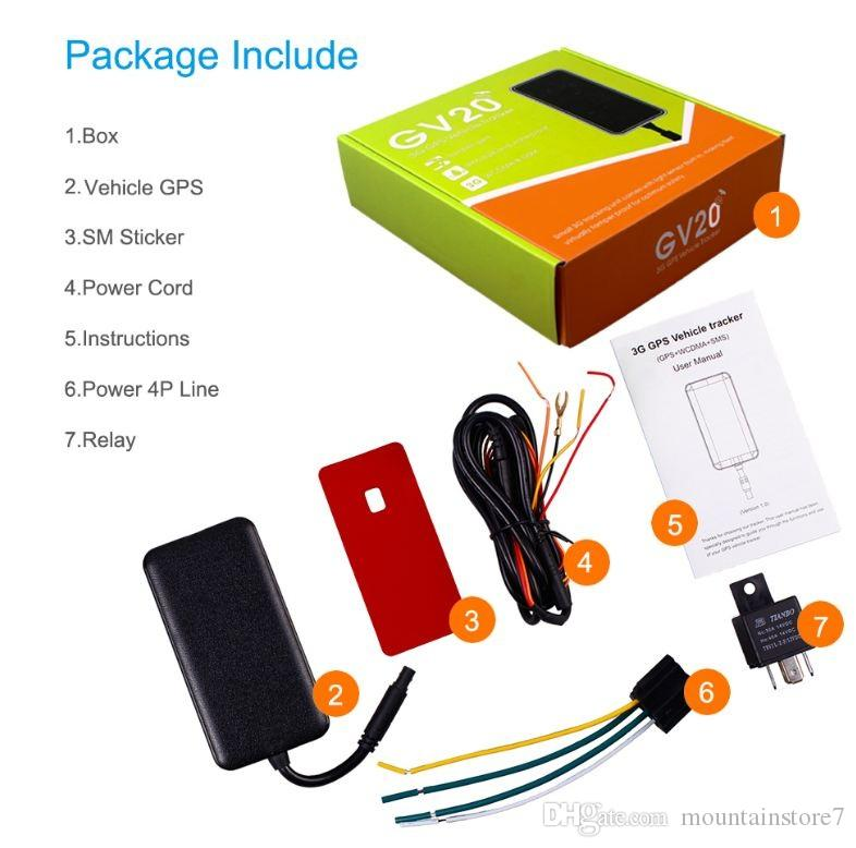Top Quality Multi-functional 3G Vehicle GPS Tracker with Remote Cut-off petrol/power ACC detection For Car Motorcycle Vehicle