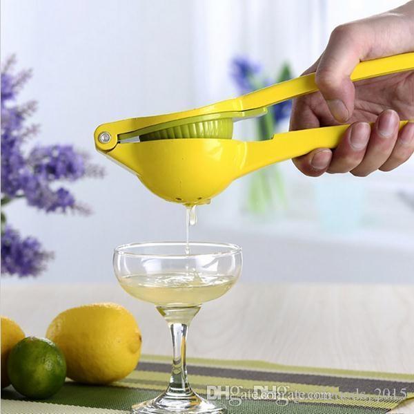 Aluminio Doble Capa Manual Limón Exprimidor Exprimidor Exprimidor de Jugo de Fruta Naranja Cocina Fruta Vegetal Herramientas Exprimidores b928