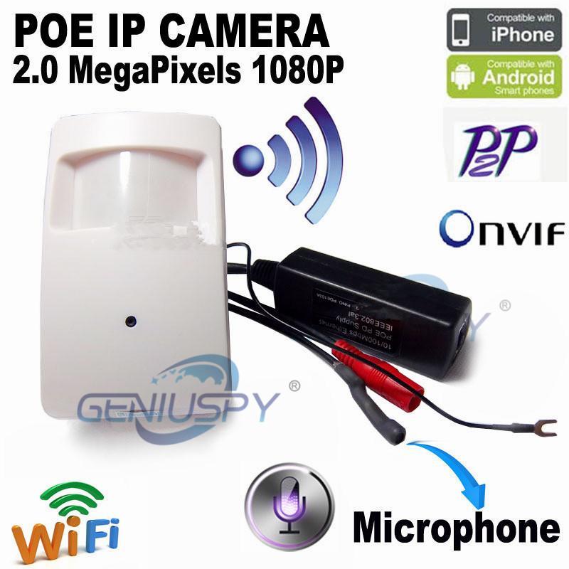 2MP Mini IP Camera POE Camera Mini IP 1080P Wifi HD Cctv Security System Video Surveillance Mini Wireless Home Camera Cam Pir