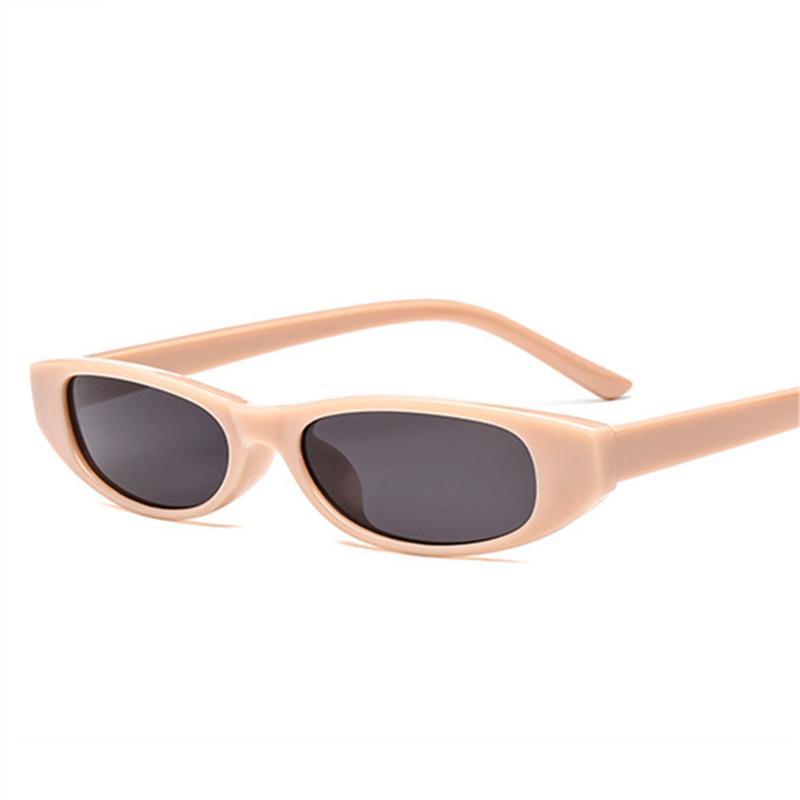 Óculos De Sol Das Mulheres Do Vintage Olho De Gato Óculos De Sol Das Senhoras Retro Pequeno Quadro Preto Eyewear