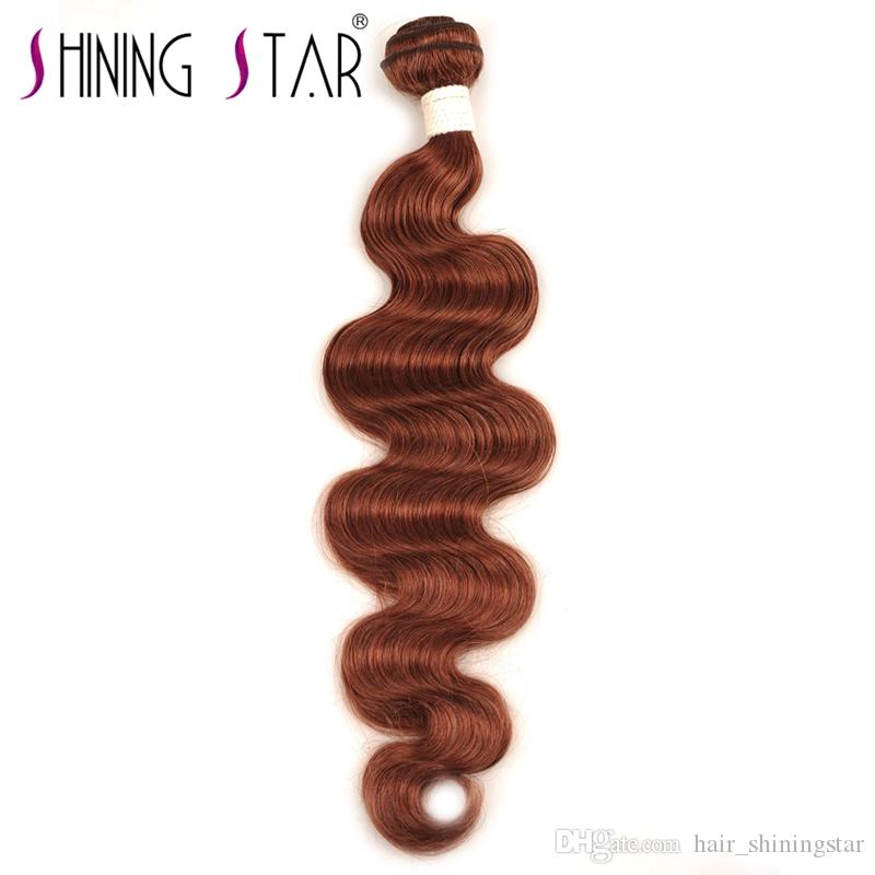 Shining Star best selling pure virgen brazilian celebrity hair styles body wave unprocessed wholesale human hair extensions