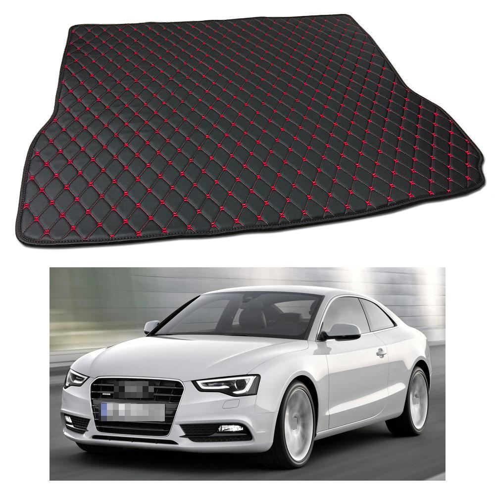 New Anti Scrape Leather Car Trunk Mat Carpet Fit for Audi A5 Coupe 2008-2017 09 10 11 12 13 14 15 16