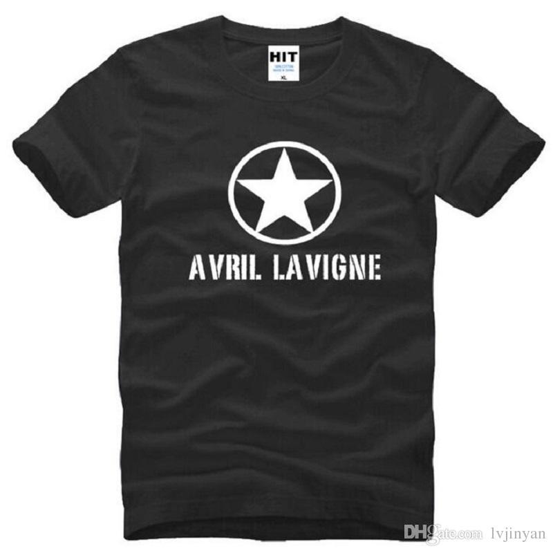 Avril Lavigne Womens Music Short Sleeve T Shirt