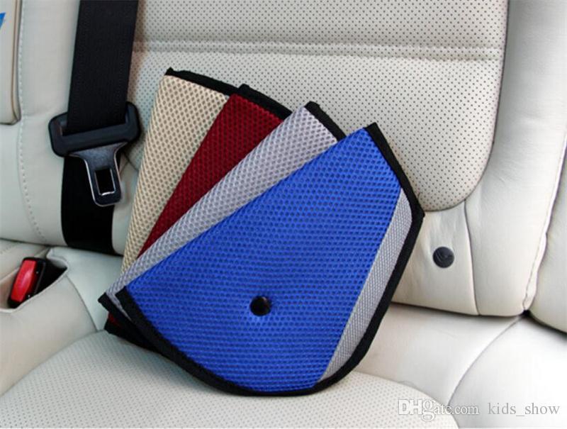 Supporto per cintura di sicurezza per auto per bambini Triangle Coperchio di protezione per seggiolino per bambini Resistente al rasoio Regolatore per seggiolino auto Estensore per cintura