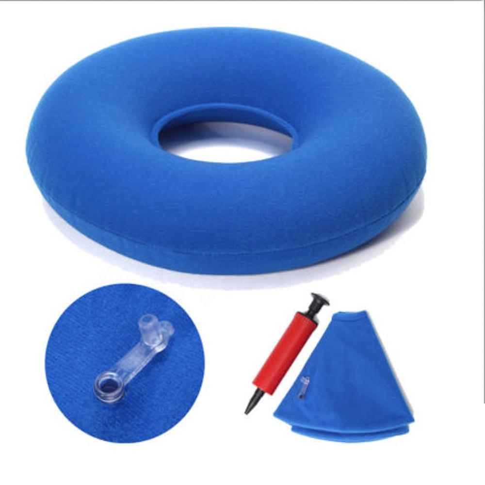 High Quality Air Pillow Inflatable Round Cushion Vinyl Seat Ring Round Seat Cushion Medical Hemorrhoid Pillow Donut