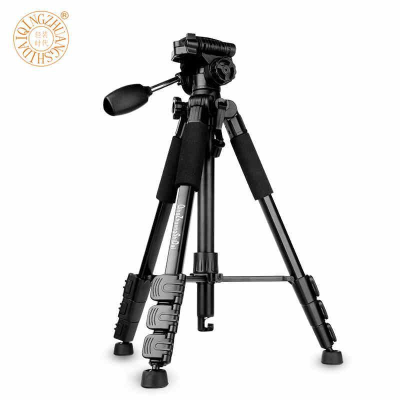 Q666 Kamerastativ cámara de fotografía profesional trípode de nivel de entrada DV cámara en vivo trípode de viaje portátil al aire libre Q111 Stativ