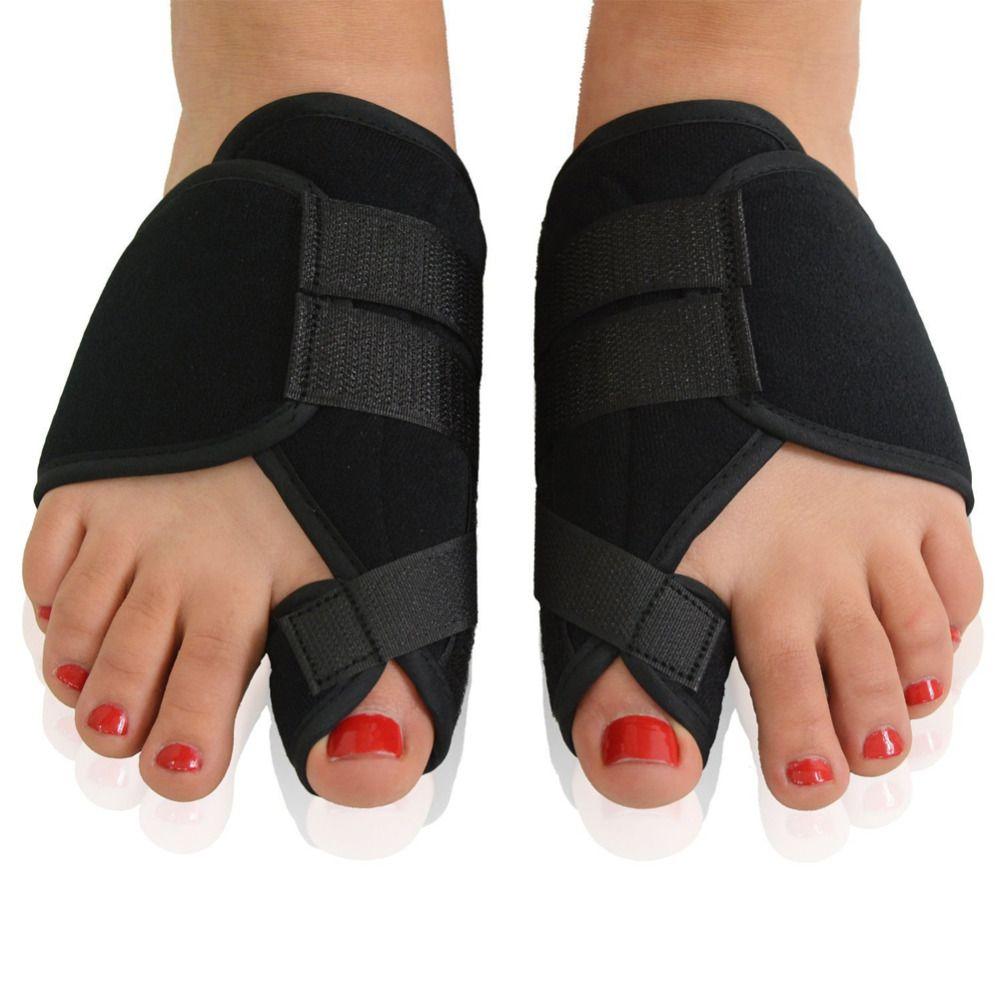 2pcs Big Toe Bunion Device Splint Straightener Hallux Valgus Pro Braces Toe Correction Foot Pain Relief Thumb Care Daily Orthotic