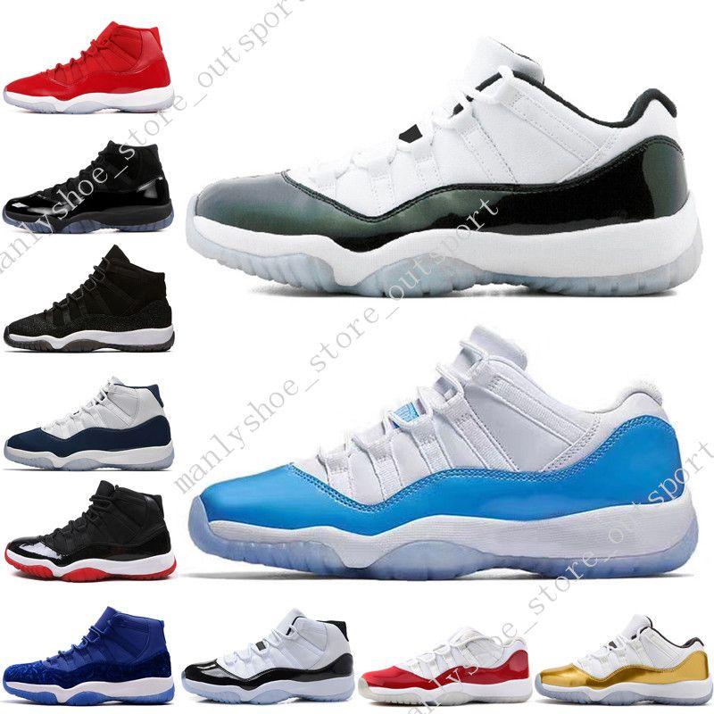 11 11s Cap и платье Prom Night Mens Basketball обувь Gym Red Бред PRM Наследница баронов Win LIKE 96 72-10 мужчин спорта кроссовки на открытом воздухе Womens