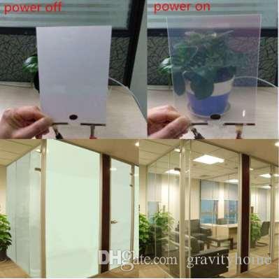 PDLC Switchable Privacy Film Smart Glass Window 5.9''x5.9'' Hot Sale