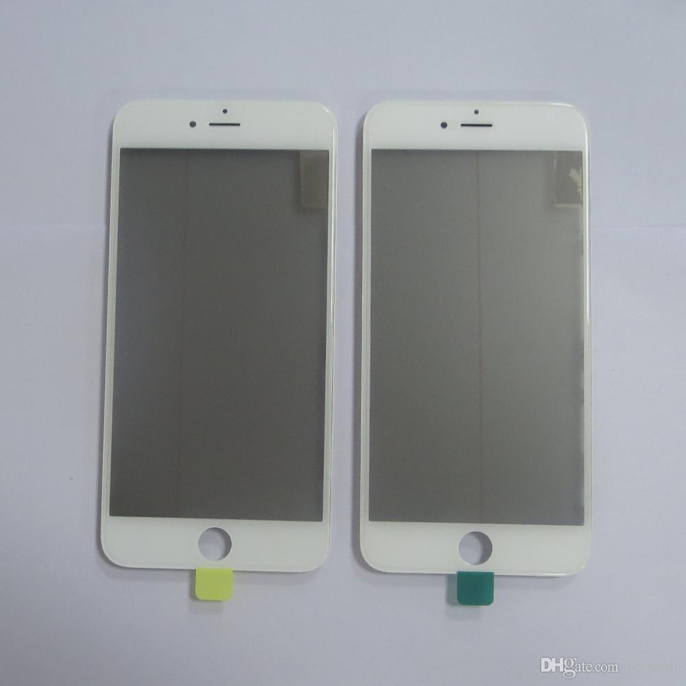 High Quality JIUTU Front Panel Glass Lens For iPhone 5G 5C 5S Grade A +++ Black LCD Display & Free DHL Shipping