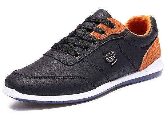 Men PU Footwear Casual Shoe Men Pu