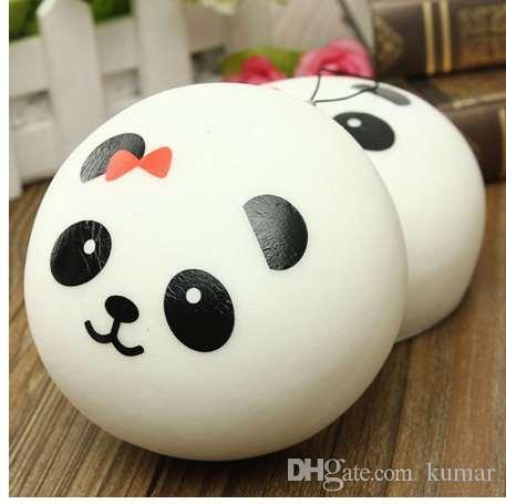 Nuovo arrivo 1 pz bel design carino 10 cm fascini squishy panini fascino del telefono cellulare kawaii jumbo panda borsa chiave ciondoli ciondolo