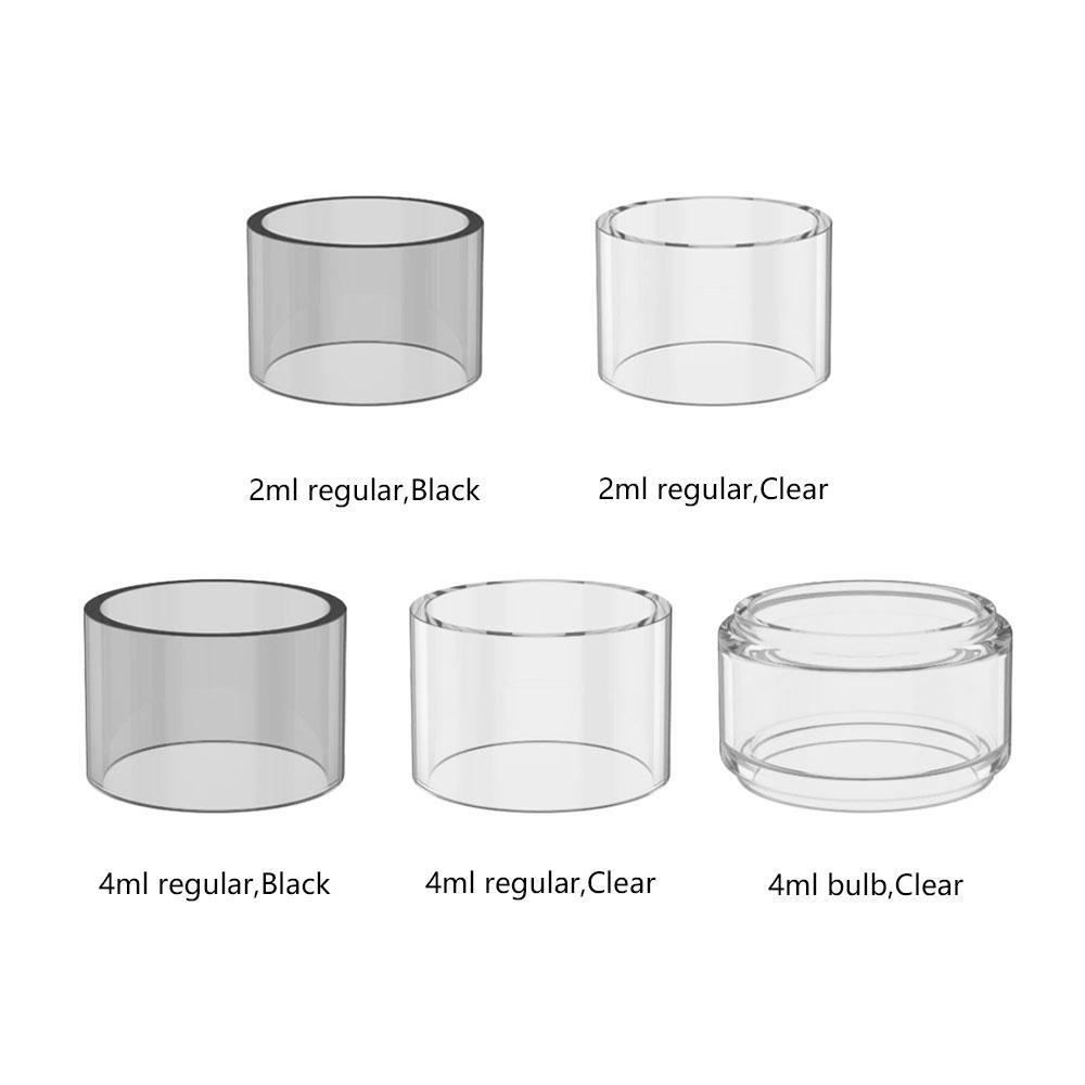 OBS Cube Tube Verre De Rechange 2ml / 4ml pour OBS Cube VW Kit Pièce détachée