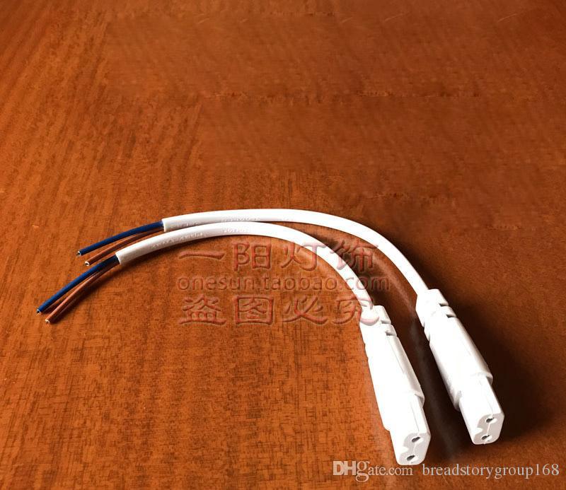 Single Female Plug Power Cord B Shaped Female Plug LED Full Copper Female Plug Adapter for Philips LED Integrated Tube