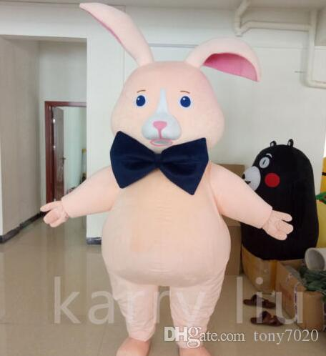 Bunny Rabbit  Hare Fancy Dress Tail Child or Adult Costume Carnival Party