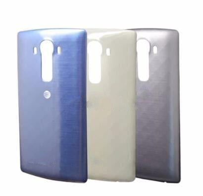 LG G4 H810 ATT Için yeni Orijinal Pil Kapağı Arka Kapı Konut Case Değiştirme