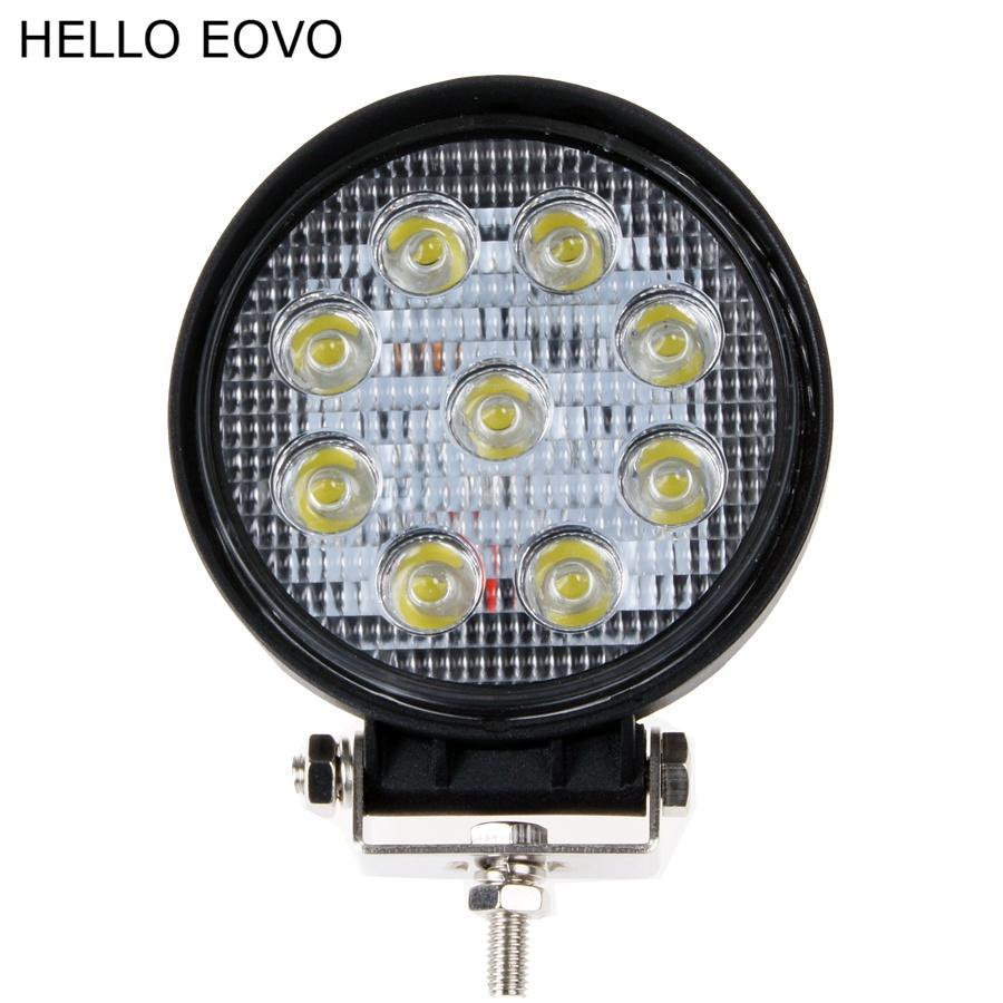 HALLO EOVO 10 stücke 4 Zoll 27 Watt LED Arbeitslicht für Anzeigen Motorrad Fahren Offroad Boot Auto Traktor Lkw 4x4 SUV ATV Flut