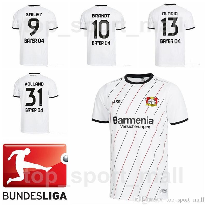 2021 2018 2019 FC Soccer 04 Bayer Leverkusen Jersey Men Bundesliga ...