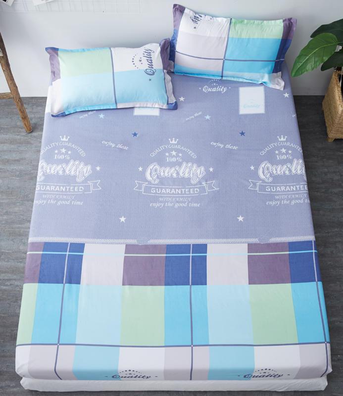 جديد 3 قطعة مجموعة السرير ورقة السرير ورقة مطبوعة مع مرونة غطاء فراش الفرقة ارتفاع 25 سنتيمتر مزودة الشريط المطاطي + 2 حالة