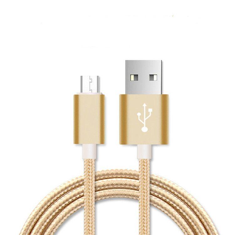 Qualitäts-schnelles Aufladen Typ C USB-Kabel 1.0 Meter 3Feet für Samsung-Anmerkung 8 S8 S8Plus