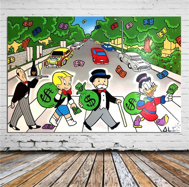 أليك مونوبولي ، Abbey Road ، ديكور المنزل عالي الدقة