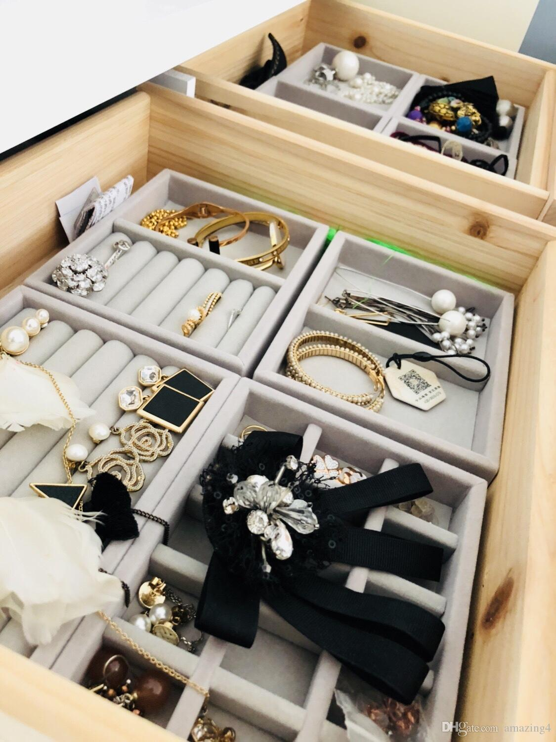 2020 Hot Selling New Drawer Diy Jewelry Storage Tray Ring Bracelet Gift Box Jewellery Organizer Earring Holder Small Size Fit Most Room Space From Amazing4 21 27 Dhgate Com