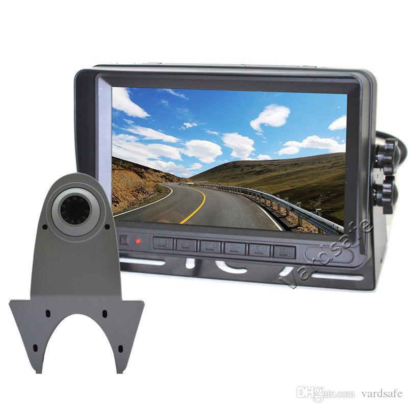 Vardsafe VS807WM | Car White Rear View Reverse Backup Camera Kit for Mercedes Sprinter