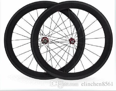 bici in carbonio ruote bici da strada 60mm larghezza 25mm ruote copertoncino in carbonio OEM per mozzi novatec bici da strada cerchi in carbonio 271/372