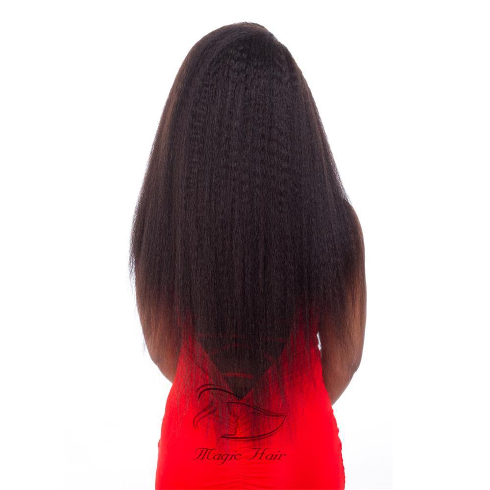 Full Lace Perruques De Cheveux Humains 9A Vierge Péruvienne Cheveux crépus Droite Perruques En Dentelle Avant