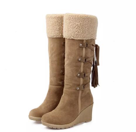 winter high snow boots