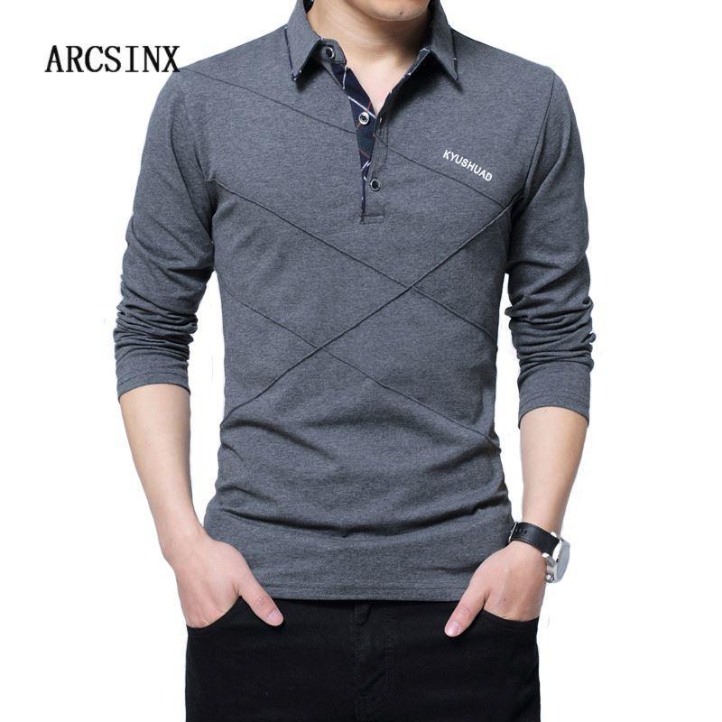 2021 5XL Polo Shirt Men Plus Size 3XL 4XL Autumn Winter Brand Mens ...