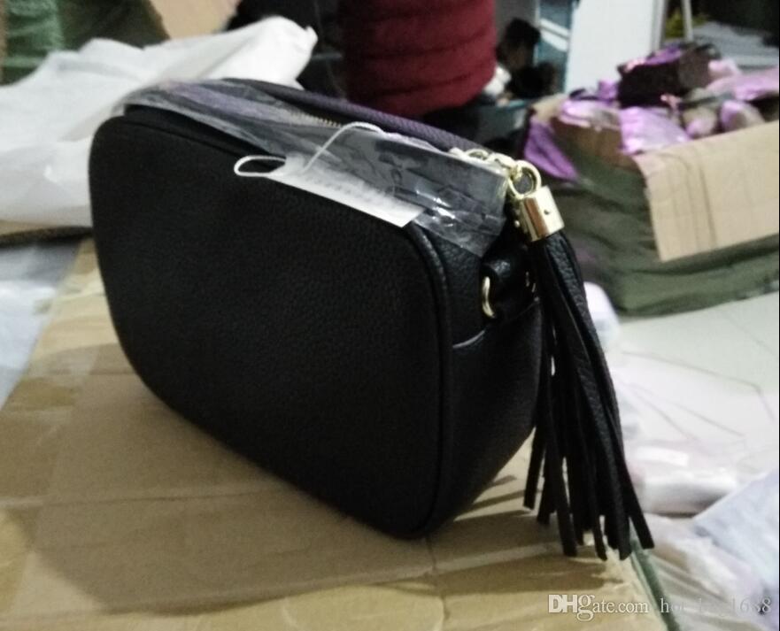 Leder Dame Designer PU Schulterfreie Tasche Geldbörse Ebene Frauen Quaste Handtaschen Taschen Brieftasche Taschen Frauen Mode Versand TAATC
