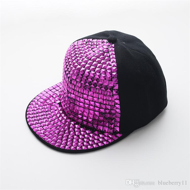 Neue Mode Kinder Mode Hip Hop Hysteresenhüte Schwarz Gold Silber Baseball Cap Eltern kind Kappe